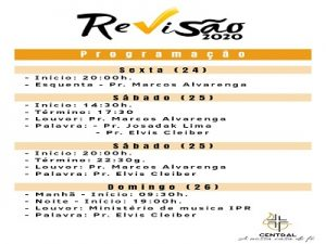 Revisão 2020